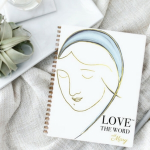 2018 love the word mary journal