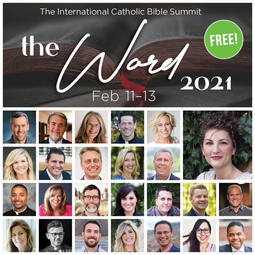 Image result for the word catholic bible summit